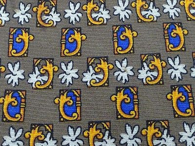 Designer Tie Danillo Trevigliani Multi Color Pattern On Skin Silk Men Necktie 31