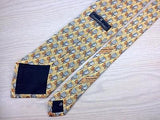 Novelty TIE Ermenegildo ZEGNA Repeat Made in ITALY Necktie 8