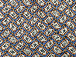Geometric TIE Made in GB Oval Eyes TieRack Silk Men Necktie 24