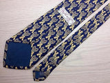 Novelty TIE Fil A Fil SNOWSHOE Made in FRANCE Silk Necktie 10