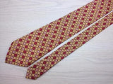 Geometric TIE Floral Cross Snowflake Check Silk Men Necktie 8