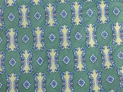 Cortese TIE Ornament Repeat on Light Green Silk Necktie 19