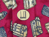Novelty TIE Chest Treasure by DUNHILL Made in Italy Silk Necktie 5