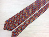 EPIC TIE Ornemantal Repeat Motif by Pierre Balmain Silk Necktie 1