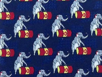 Animal Print TIE Elephant Rolling Barrel Silk Necktie 6