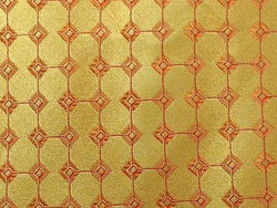 Geometric TIE Gold Dot Woven BELLUMORE Made in ITALY Silk Men Necktie 9