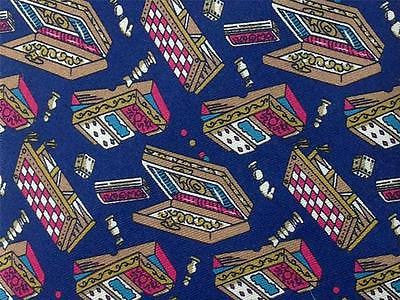 Game TIE Chess Board Card Dice Piece Novelty Theme Repeat Silk Necktie 3