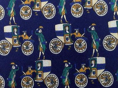 Novelty TIE Vintage Old Car Gentlemen Queen Made in ITALY Silk Necktie 10