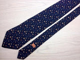 Novelty TIE Alfred DUNHILL Fall LEAF Scribe Made in ITALY Silk Men Necktie 9