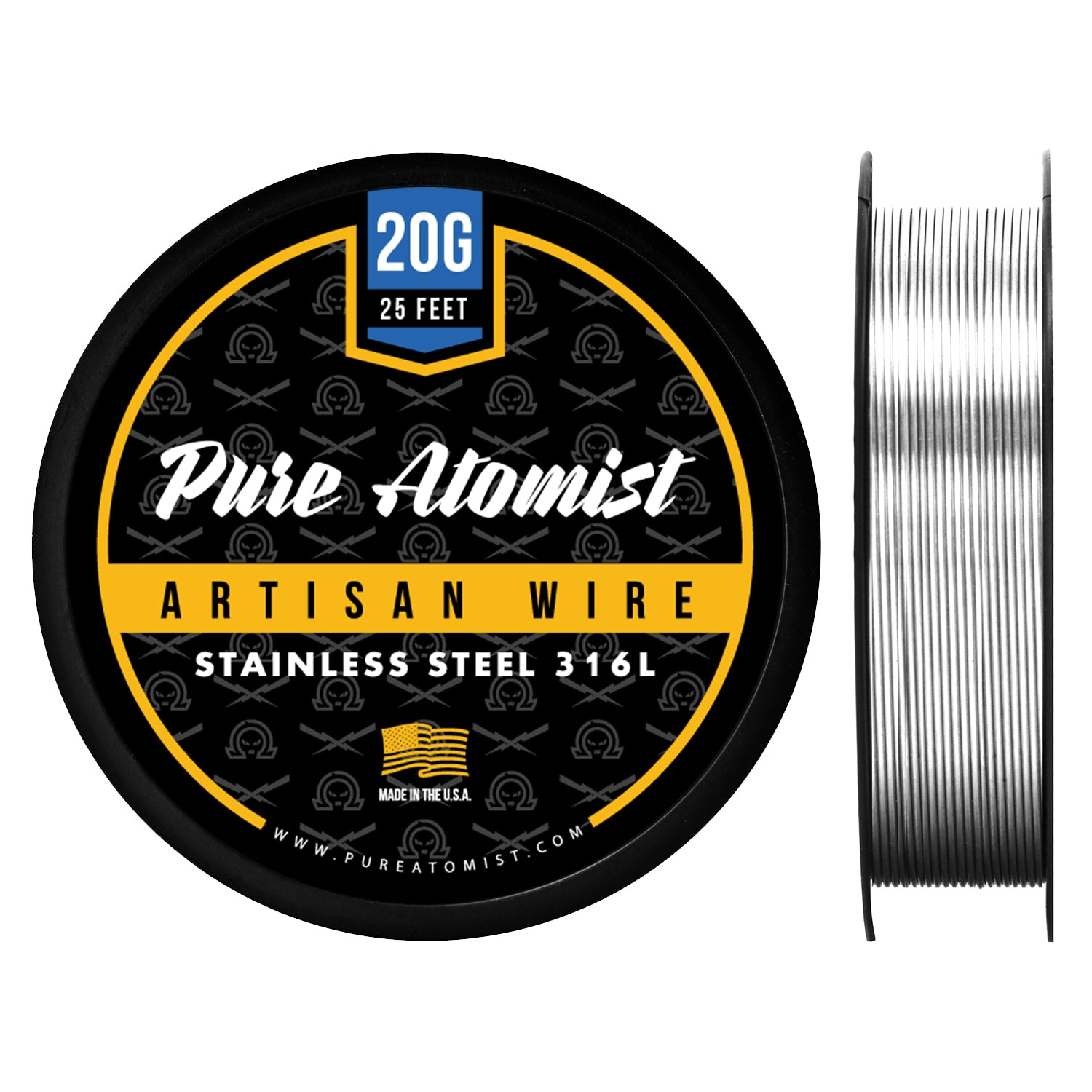 Stainless Steel 316L - Round Wire - PURE ATOMIST