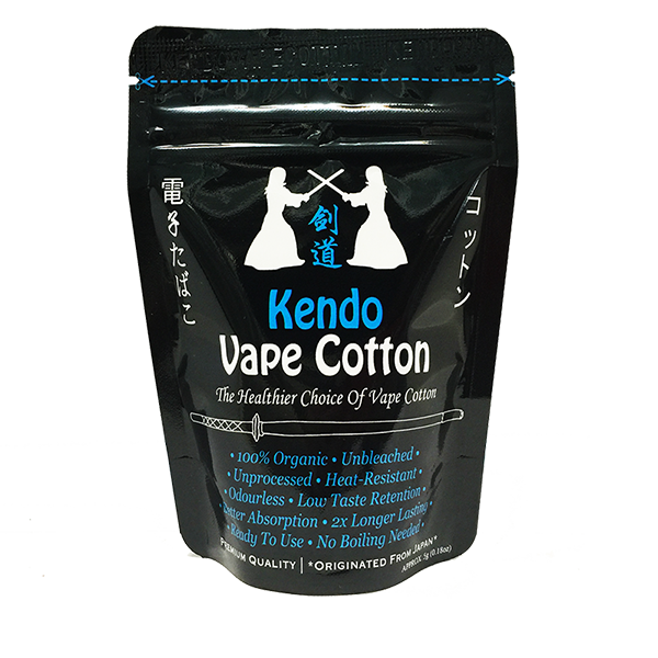 Kendo Vape Cotton - Original 5gm - PURE ATOMIST