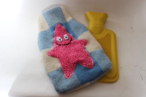 Woollen Hot Water Bottle Cover