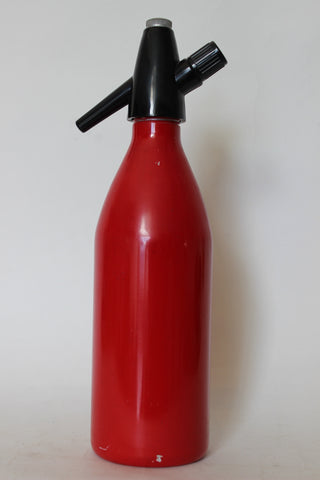 Matte Red Soda Syphon