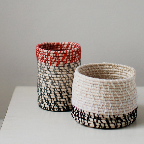 DIY Rope Coil Vessels by We Are Scout