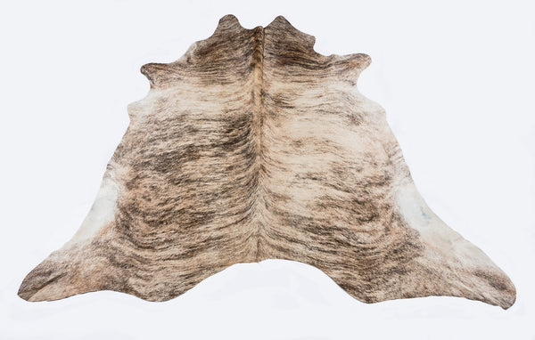 Light Brindle  Cow Hide  Rug - FREE SHIPPING