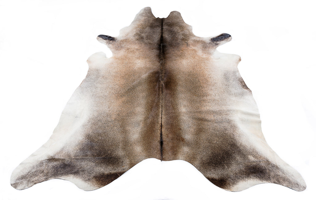 Silver Beige Cow Hide  Rug - FREE SHIPPING
