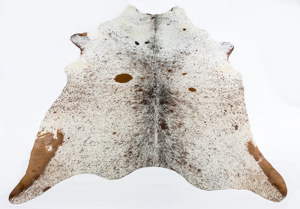 Speckled Brown Light Cow Hide  Rug - FREE SHIPPING