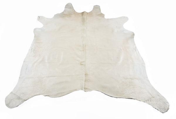 White  Cow Hide  Rug - FREE SHIPPING