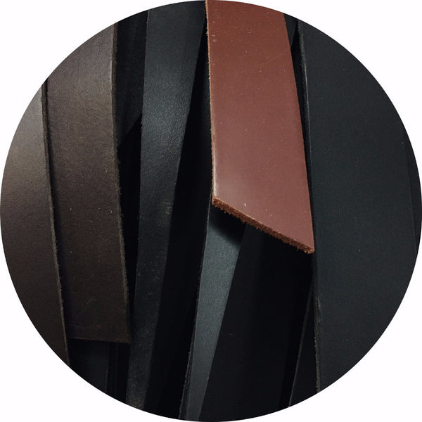 Seconds - Coloured Leather Belt Blanks