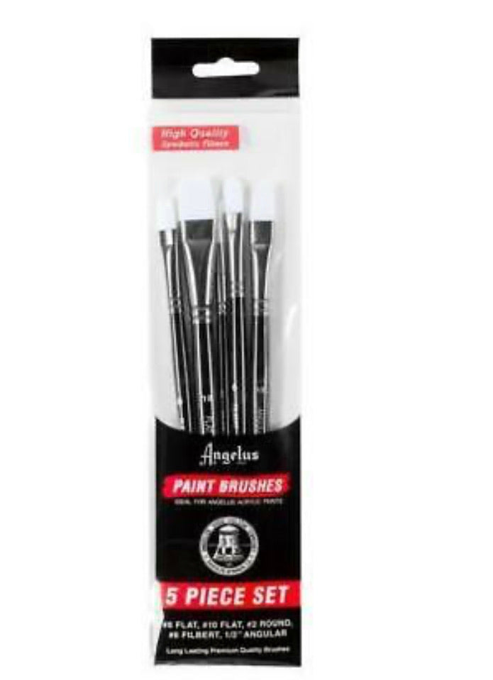 Angelus Paint Brush - set of five