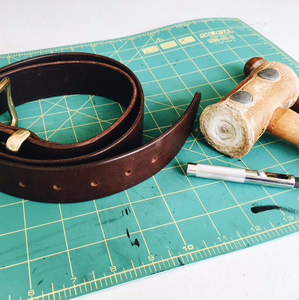 Leather Belt Making Workshop with Cherryl McIntyre | East Coast Leather, Brisbane Australia