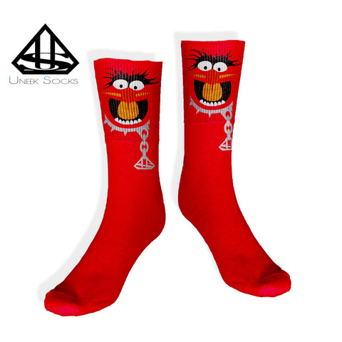 Animal muppet UNEEK SOCKS