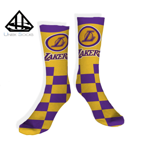 Los Angeles Lakers Socks