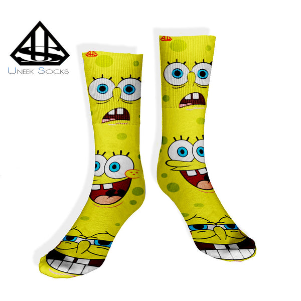 Spongebob Uneek Socks