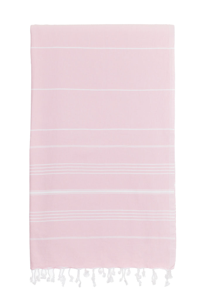 Turkish Towel Co 100% Cotton Turkish Towels Dusty Pink