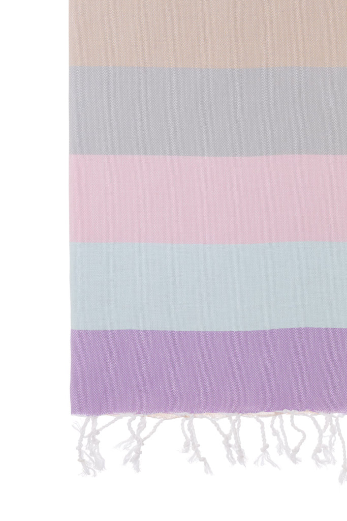 Turkish Towel Co 100% Cotton Pastel Turkish Beach Towel Buy Online