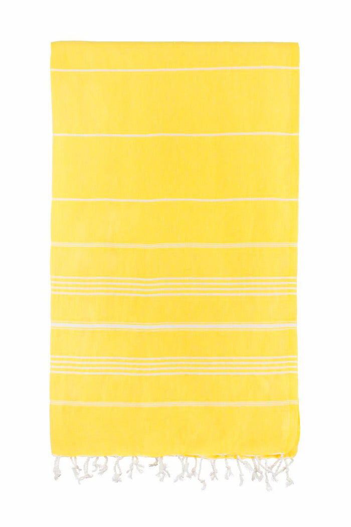 Turkish Towel Co Original Yellow Bright Towel