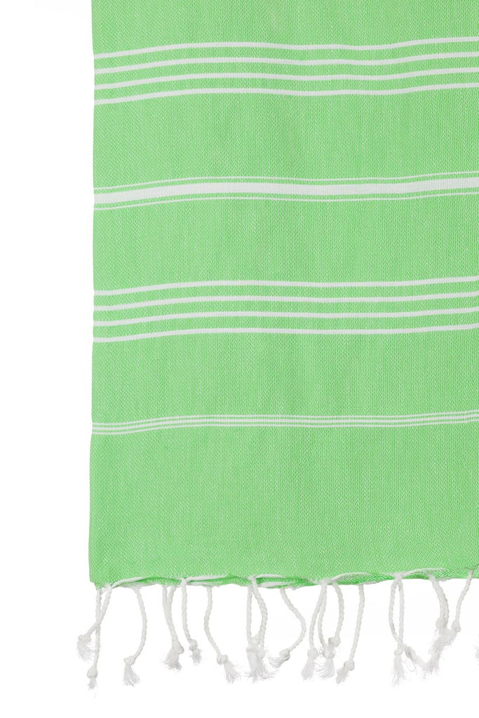 Turkish Towel Co Apple Green Turkish TOwel