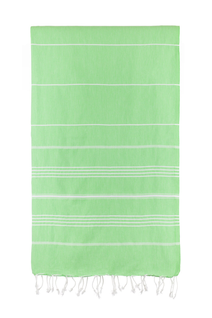 Turkish Towel Co Apple Green Original Towel