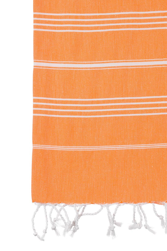 Turkish Towel Co Original Orange Turkish Towel