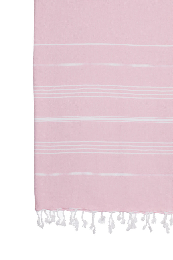 Turkish Towel Co 100% Cotton Turkish Towels Dusty Pink Beach Towel