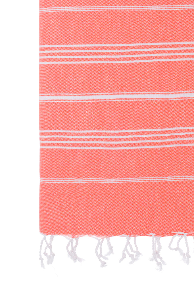 Turkish Towel Co Coral Purchase 100% Cotton Towel Online