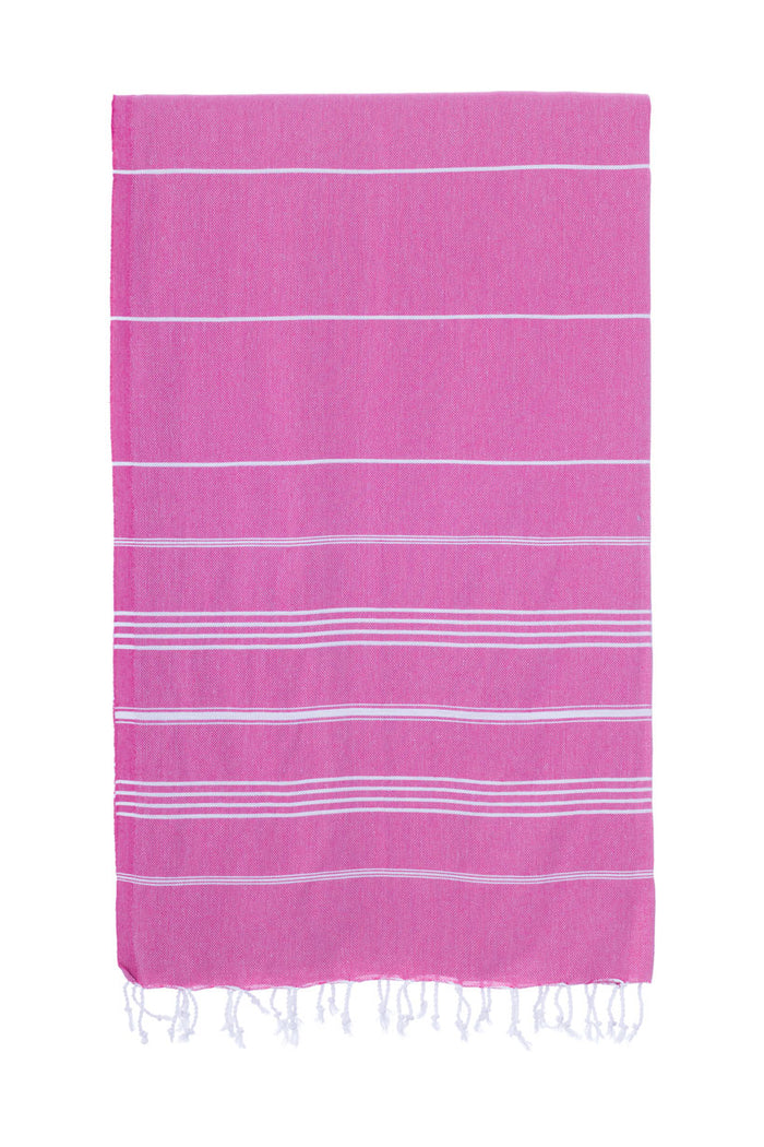 Turkish Towel Co Original 100% Cotton Towel Fushia Towels Online