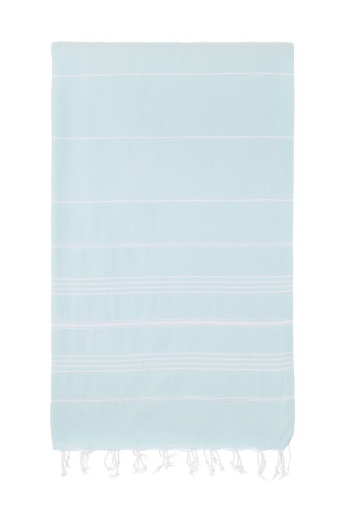 Turkish Towel Co 100% Cotton Mint Beach Towel