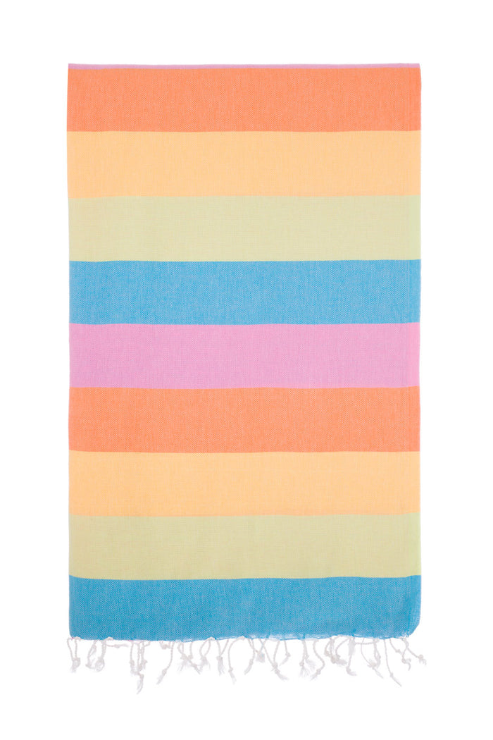 Turkish Towel Co 100% Cotton Summer Bright Towels Online
