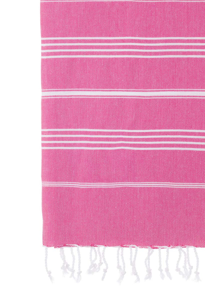 Turkish Towel Co Original 100% Cotton Towel Fuschia Towels Online