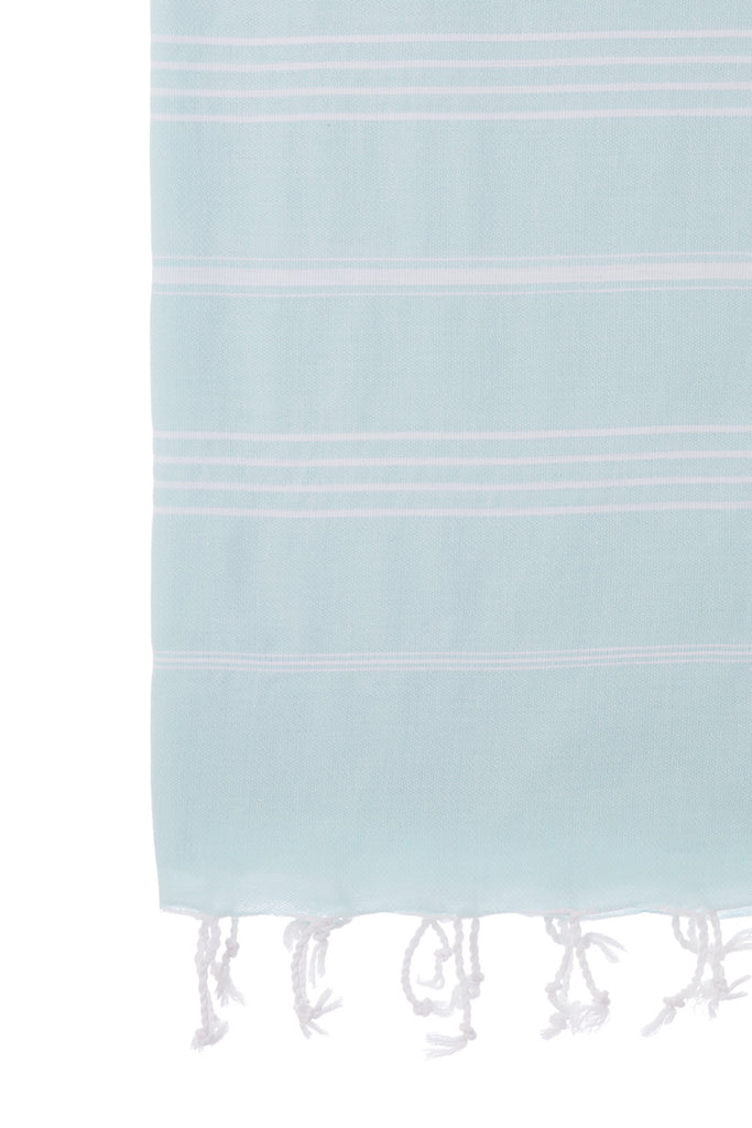 Turkish Towel Co 100% Cotton Mint Beach Towels