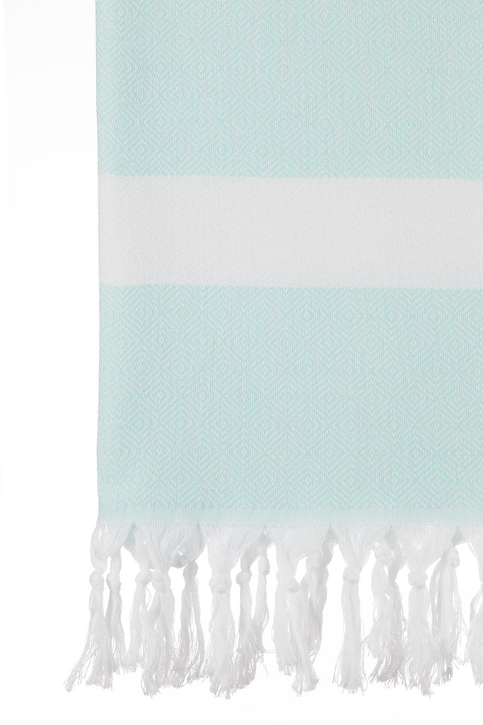 Turkish Towel Co MInt Diamond