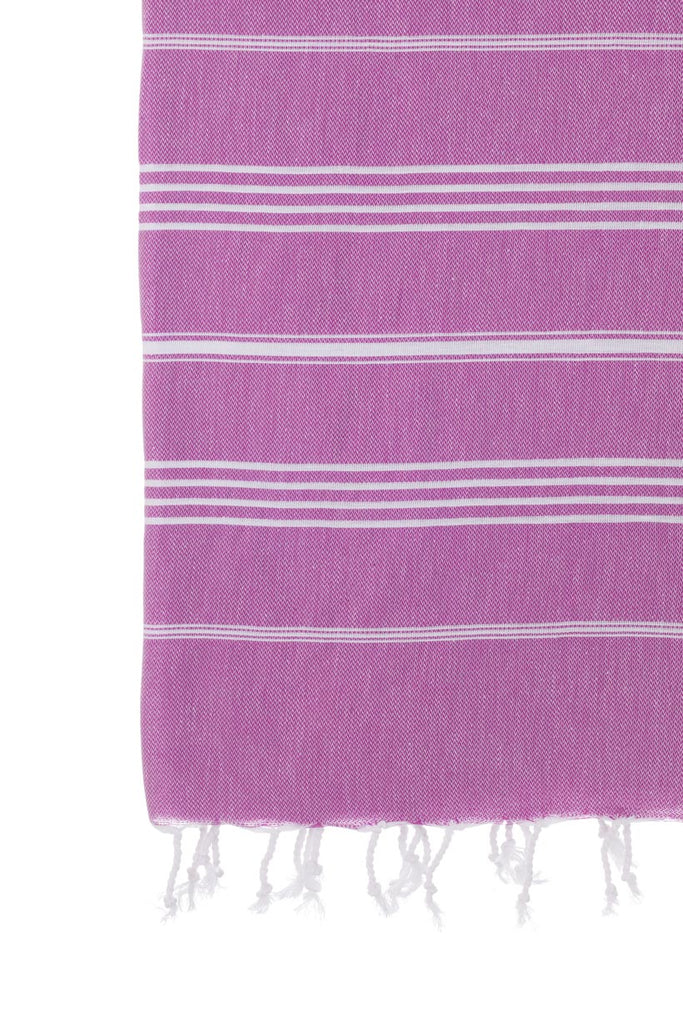 Turkish Towel Co Classic Purple 100% Cotton Turkish Towel