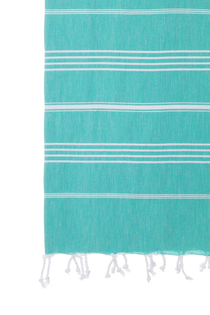 Turkish Towel Co Sea Green Turkish Towel 100% Cotton