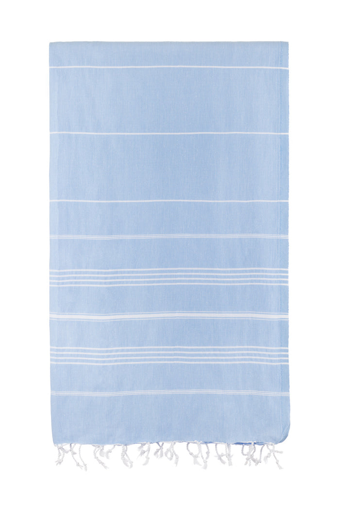 Turkish Towel Co Originals Collection Towel Light Blue