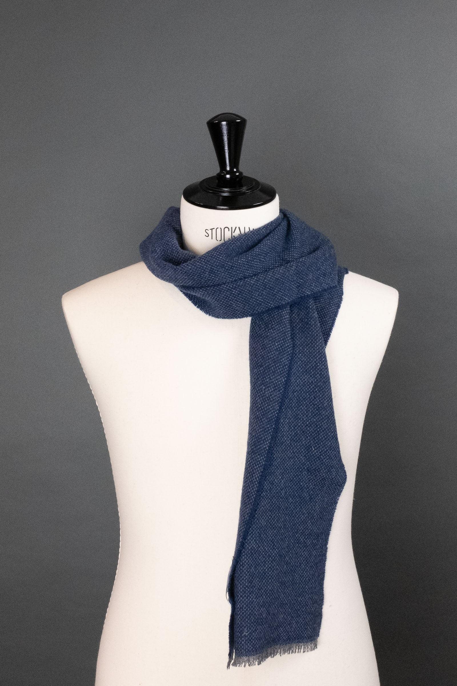 City Blue Cashmere Scarf
