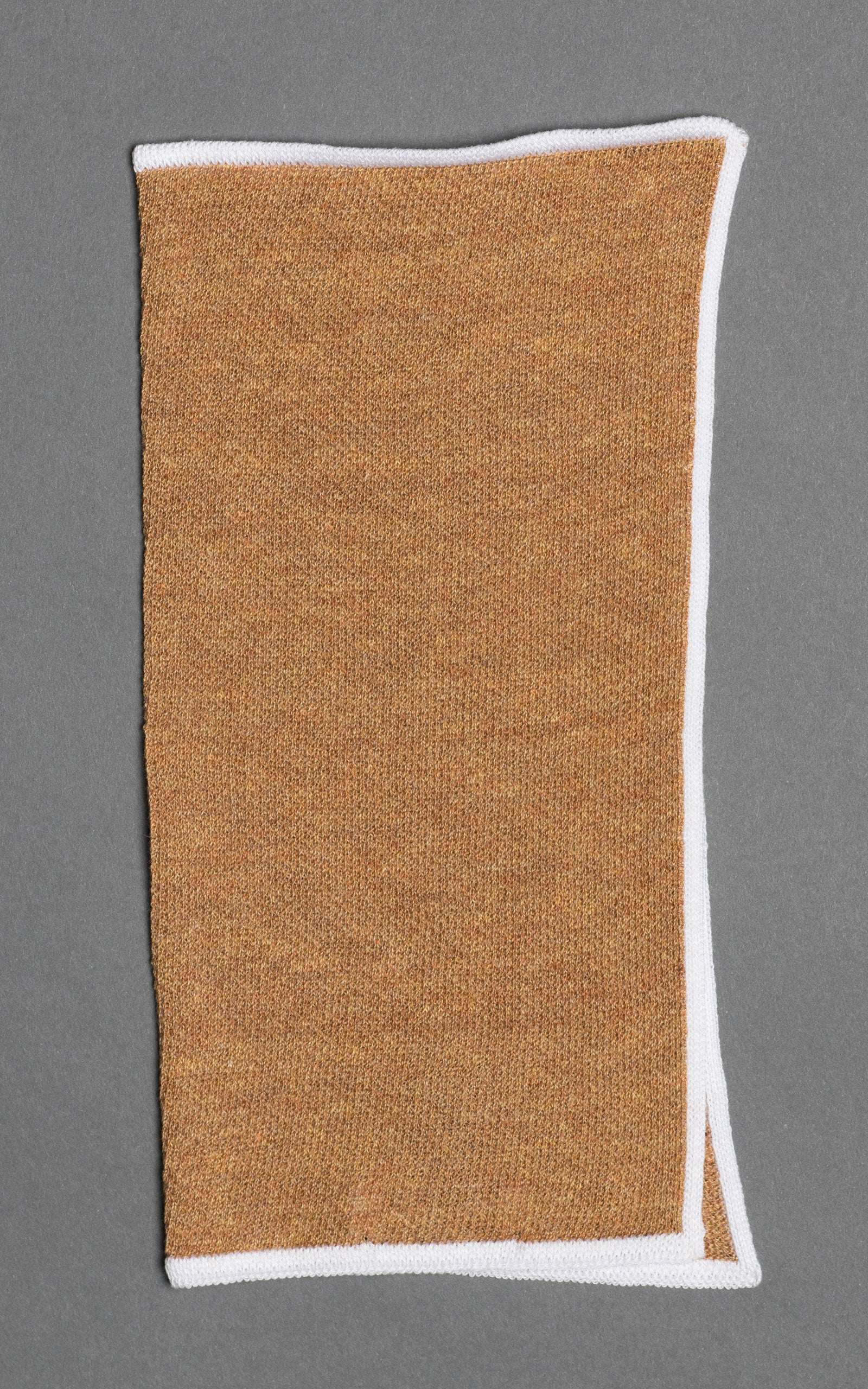 Copper Knitted Cotton Pocket Square