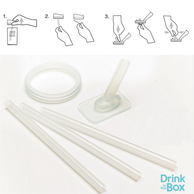 Replacement Parts Kit for 12oz Drink in the Box
