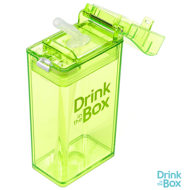 Drink and Juice Box 8oz Small Green