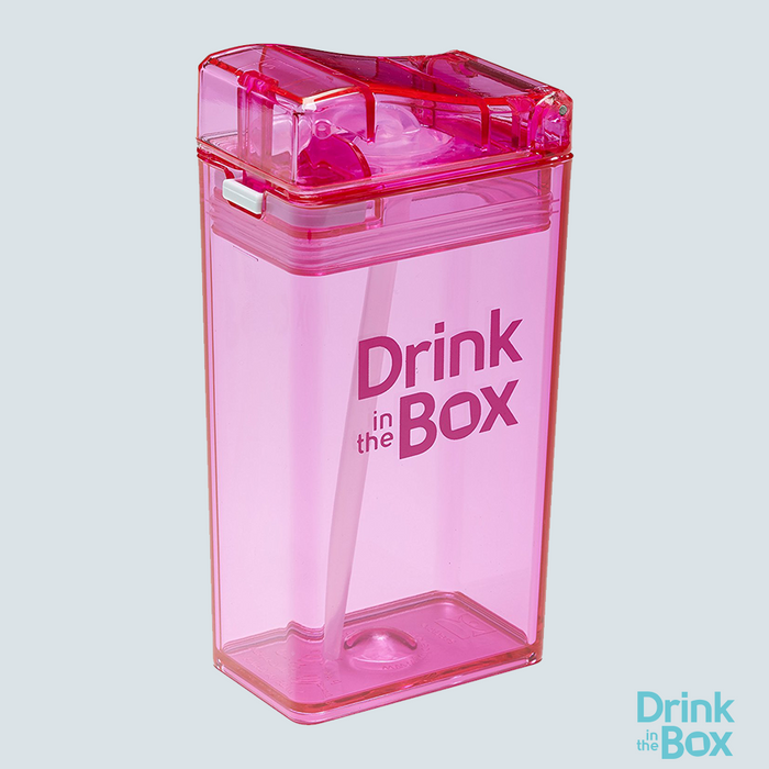 Drink and Juice Box 8oz Small Pink
